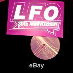 Lfo lfo 30th anniversary record super limited edition