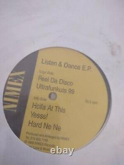 Listen & Dance Ep Ultra Rare 12 Hard House Latin Techno Rare Sealed