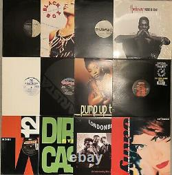 Lot Of 12 Dance 90s Club House 12 Viny Record Singles HADDAWAY SNAP BLACK BOX