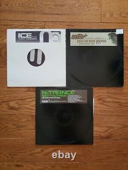Lot of 43 12 Vinyl records Progressive Trance Techno Dance Music Mix READ