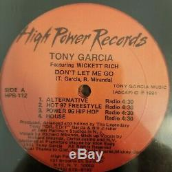 Lot of 7 Collectible Freestyle Vinyl Singles From High Power Records EX to NM