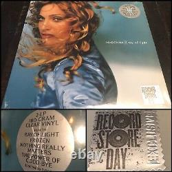 MADONNA Ray Of Light 2x LP 180 Gram Clear Vinyl SEALED Record Store Day RSD