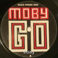 Moby Go Woodtick mix only on this UK promo 7 1991 House Techno 45 Mint