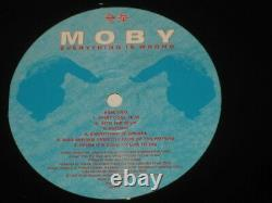 Moby rare'95 UK 1st press LP Everything Is Wrong on Mute mint- 90's electronics