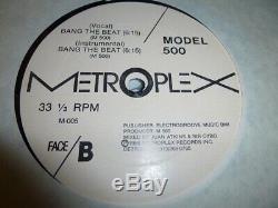 Model 500 Testing 1-2 Original 1986 Metroplex Records M-005 Detroit Techno