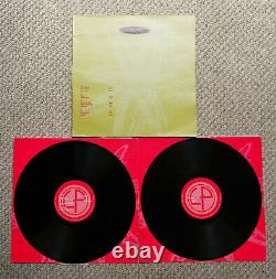 Orbital Self Titled 1st Album 2xLP Vinyl 1991 FFRR 828248-1