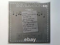 Orbital Snivilisation Double vinyl LP with art print & 12 promo