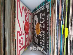 Plattensammlung vinyl techno gabber Hardcore Trance Goa Jungle Break Beats happy