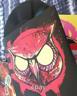 Rare! Hotline Miami Video Game Soundtrack 3x Coloured Triple Gatefold Vinyl Dark