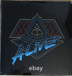 Reedition Double Vinyle Album Daft Punk Alive 2007 Rare Collector Neuf Blister