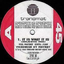 Rhythim Is Rhythim It Is What It Is (Sealed Copy) Transmat 1988 #742094