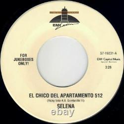 SELENA 4 jukebox 45s TECHNO CUMBIA amor prohibido EL CHICO DEL APARTAMENTO 512