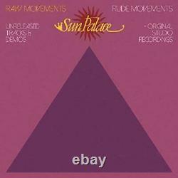 SUNPALACE Raw Movements / Rude Movements (vinyl) 2 Vinyl SEALED/NEW