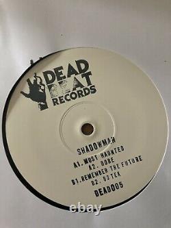 Shadowman Most Haunted EP Old Skool/Breakbeat/Hardcore/Jungle/Techno/12 Mint