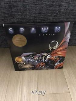 Spawn The Album Analog Record LP Out of Print Rare Red board 1997 From JPN F/S