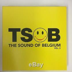TSOB The Sound of Belgium 3 boxes NM Vinyl Techno New beat