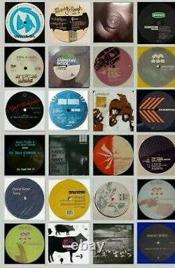 Techno Records vinyl lot of 24 Brand new mint condition. Lot #201