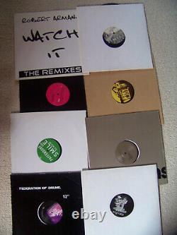 Techno, Schranz, Mix-Beats 10 x 12 Maxisingles Vinyl