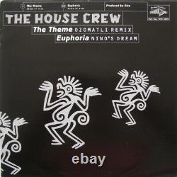 The House Crew The Theme / Euphoria Remixes vinyl 12 ID7723z