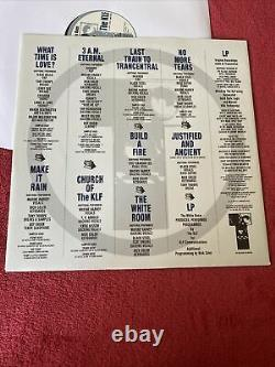 The KLF The White Room (LP, Album)  Rare U. K. Edition Ex 1991- With Inner