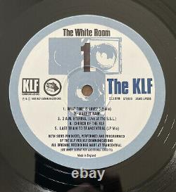 The KLF The White Room UK original vinyl album JAMS LP006 KLF Com 1991 EX