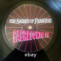 The Sabres Of Paradise Sabresonic II, 2xLP Warp Records WARP LP 34
