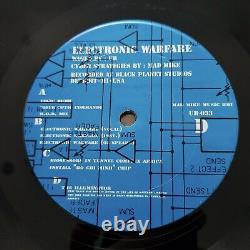 UR Electronic Warfare RARE US 1ST PRESS BROWN CARDBOARD VINYL 2 x 12 TECHNO