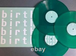 VARIOUS Birth 3xLP Compilation Green Vinyl Furthur Electronix Techno Breaks IDM