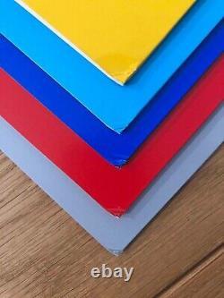 VITALIC 20th Anniversary 5x LP Vinyls Box Set Numbered signed edition techno