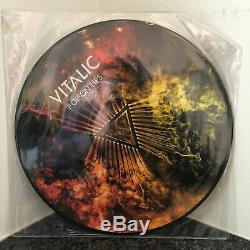 VITALIC Poison Lips EP 2009 ORIG FRENCH PRESS ltd ed pic disc TECHNO ELECTRO NM