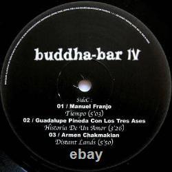 Various Buddha-Bar IV VINYL, BOX SET George V Records 2002 NEW