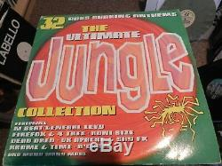 Various The Ultimate Jungle Collection USED 3x 12' 1994 Dino Entertainment