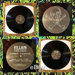 Void-002 VILL4IN RECORDS VR002 RARE SYNTHWAVE VAPORWAVE Limited 300