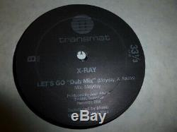 Xray Lets Go Original Official First 1986 Pressing Derrick May Transmat Records