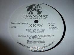Xray Lets Go Promo Derrick May Transmat Records Ms001 1986 Detroit Techno